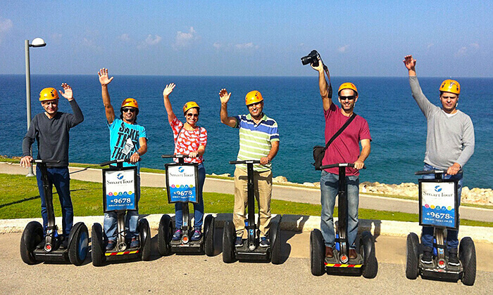 5 Smart Tour - סיור סגוויי ליחיד, זוג או רביעייה בתל אביב או ירושלים