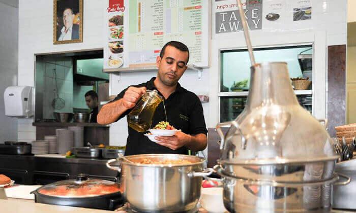5 ארוחה זוגית במסעדה הלבנונית אבו גוש, תל אביב