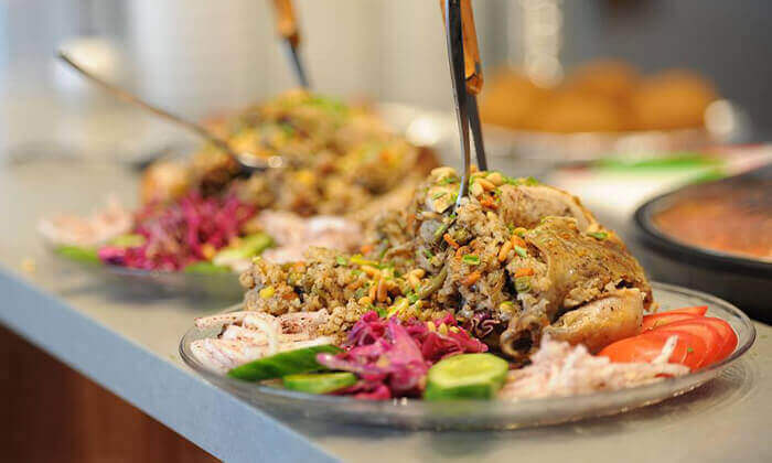 6 ארוחה זוגית במסעדה הלבנונית אבו גוש, תל אביב