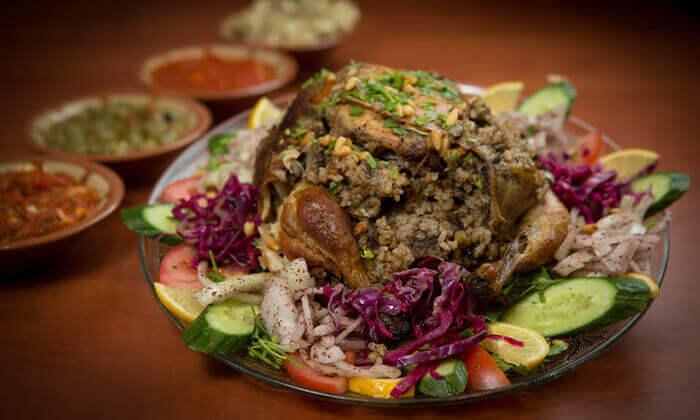 7 ארוחה זוגית במסעדה הלבנונית אבו גוש, תל אביב