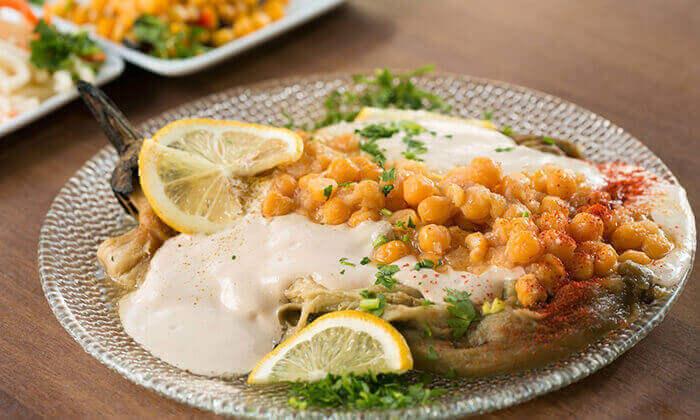 5 מסעדת אבו זאקי בבן יהודה, תל אביב - ארוחה לזוג