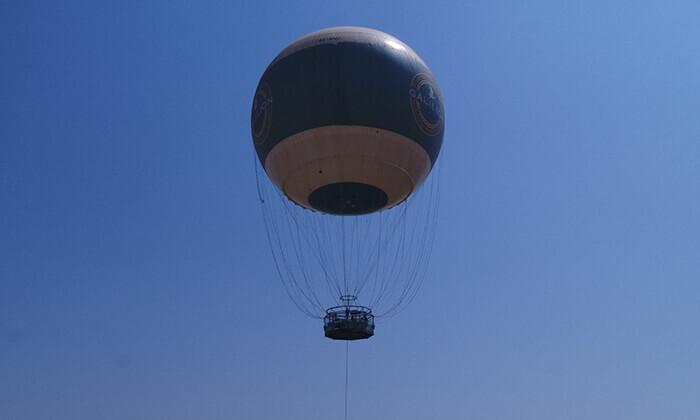 5 לעוף על הגליל - טיסה עם כדור פורח מעל עמק החולה
