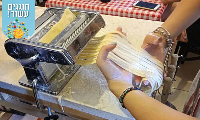 7 השף ג'אקומו - סדנת בישול איטלקי בהוד השרון
