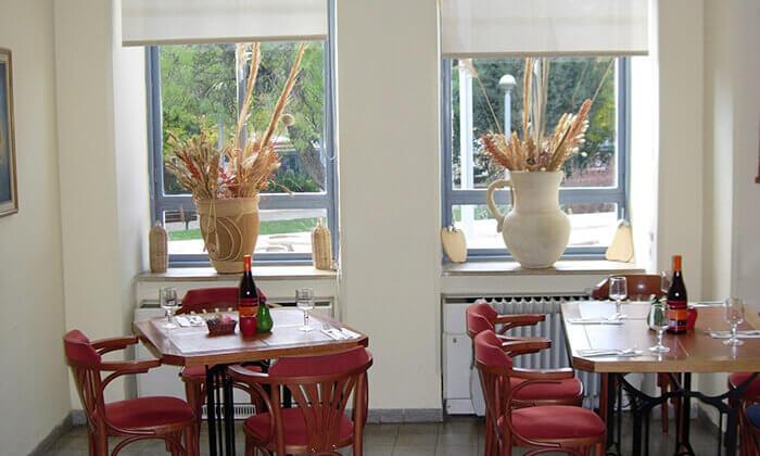 4 ארוחה כשרה לזוג במסעדת אגס ותפוח הירושלמית, כיכר ספרא