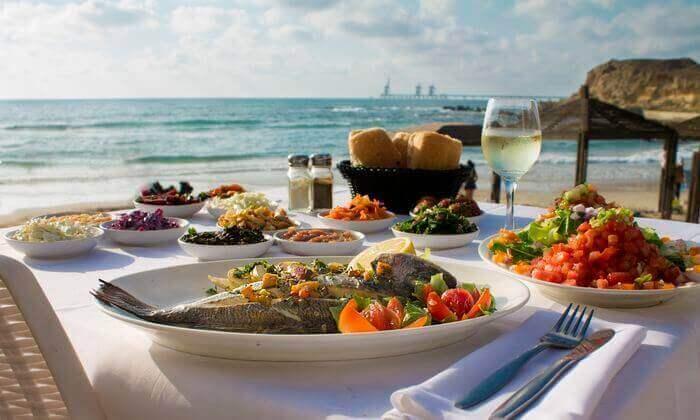 2 מסעדת בני הדייג בראשון לציון - ארוחה זוגית