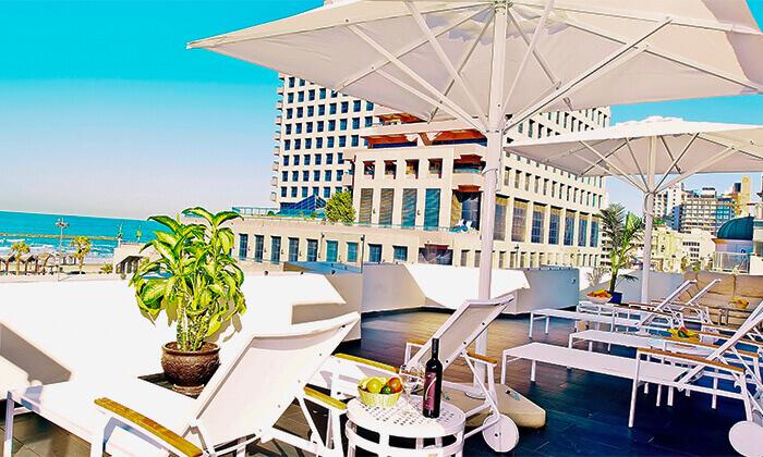 8 יום פינוק בספא מלון Bell, תל אביב