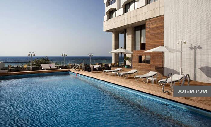 4 יום פינוק זוגי במלונות אורכידאה ולאונרדו ארט, תל אביב