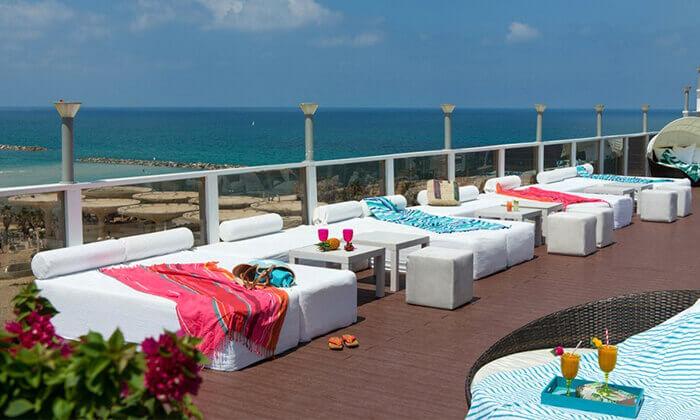 10 יום פינוק זוגי במלונות אורכידאה ולאונרדו ארט, תל אביב