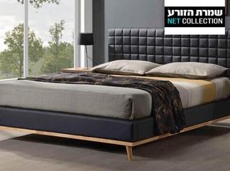 מיטה זוגית מרופדת דגם טורנדו