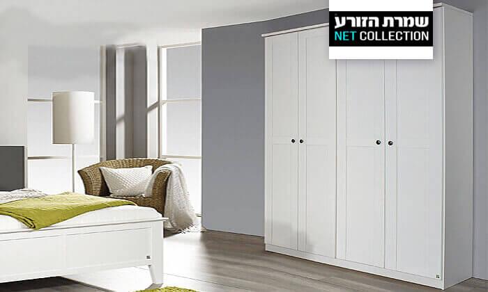 2 ארון קיר מעוצב לחדר שינה דגם 'שאנל' של שמרת הזורע