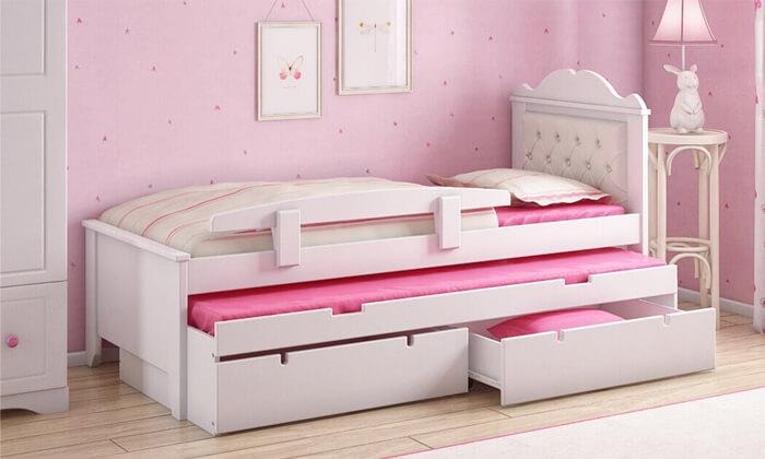 5 מיטת ילדים נפתחת דגם 'פנדורה' של שמרת הזורע