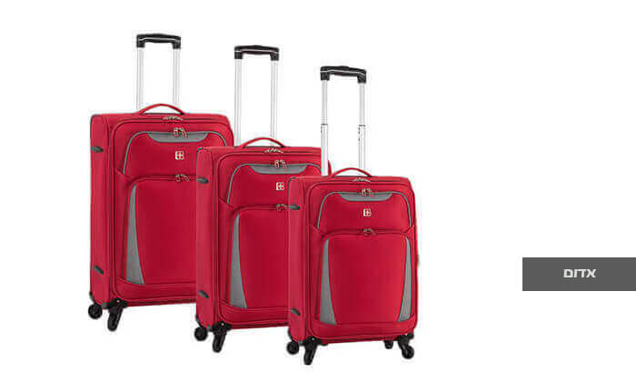 5 סט 3 מזוודות SWISS דגם Summer 2019