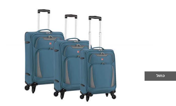 6 סט 3 מזוודות SWISS דגם Summer 2019