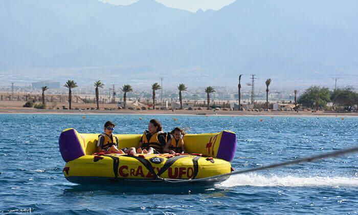 2 מועדון דניאל אזולאי בחוף נביעות, אילת - 3 אטרקציות בכרטיס אחד ליחיד או לזוג