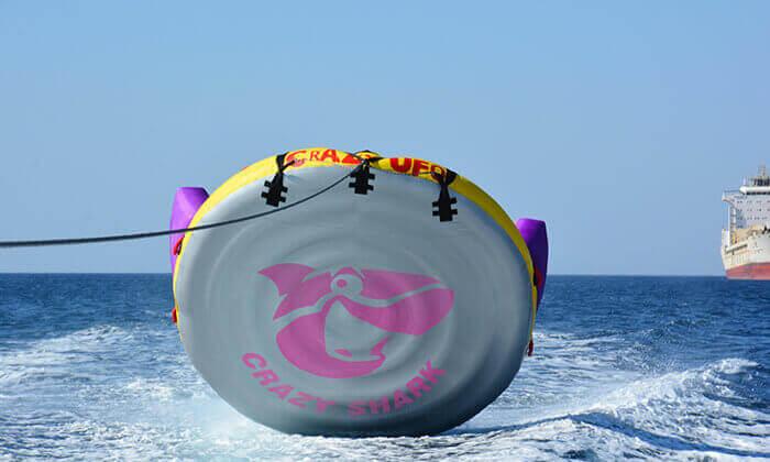 6 מועדון דניאל אזולאי בחוף נביעות, אילת - 3 אטרקציות בכרטיס אחד ליחיד או לזוג