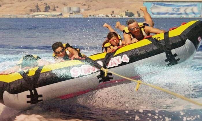 5 מועדון דניאל אזולאי בחוף נביעות, אילת - 3 אטרקציות בכרטיס אחד ליחיד או לזוג