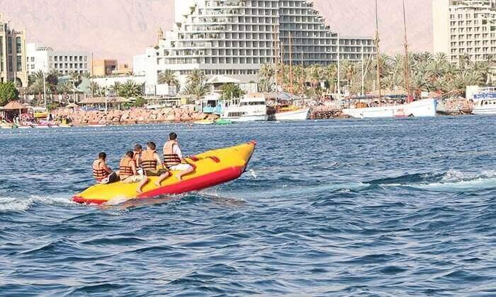 7 מועדון דניאל אזולאי בחוף נביעות, אילת - 3 אטרקציות בכרטיס אחד ליחיד או לזוג