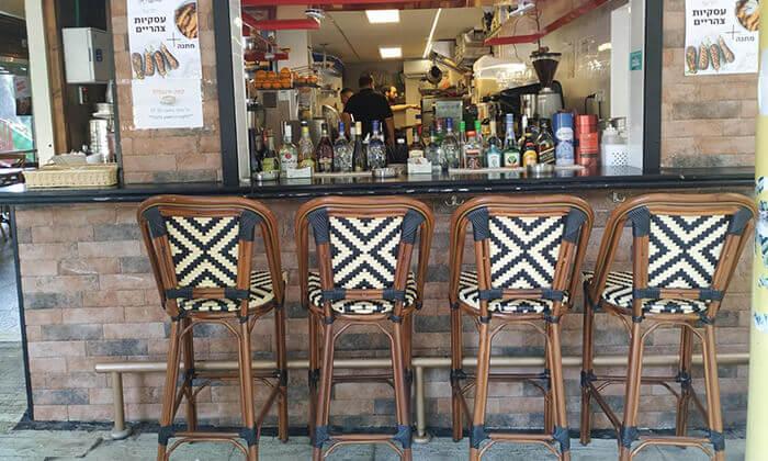 7 ארוחה איטלקית לזוג בקפה היינה, כיכר היינה חיפה
