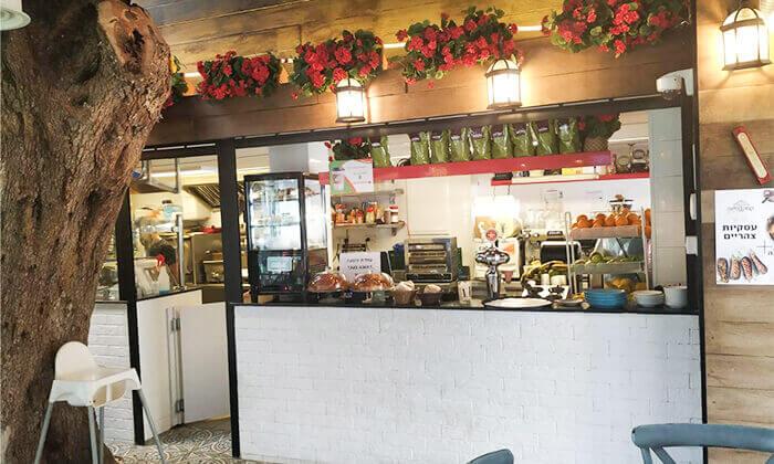 2 ארוחה איטלקית לזוג בקפה היינה, כיכר היינה חיפה