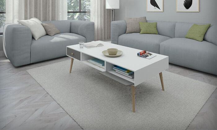 2 שולחן סלון דגם 'נאפולי'