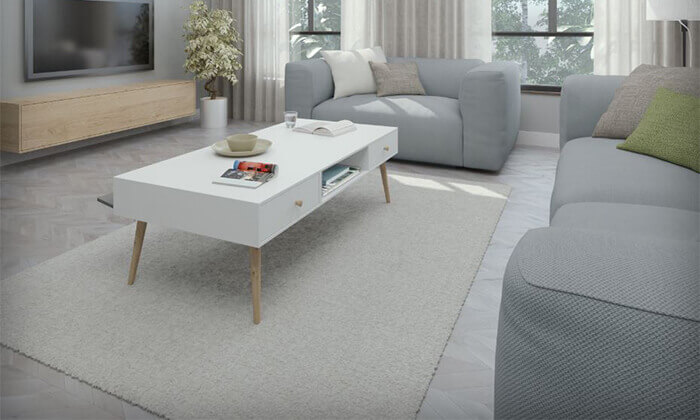5 שולחן סלון דגם 'נאפולי'