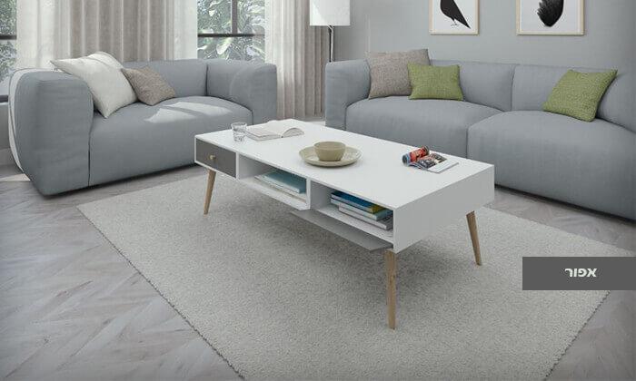 4 שולחן סלון דגם 'נאפולי'