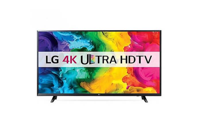 """3 טלוויזיה LG חכמה SMART 49 בגודל """"49"""