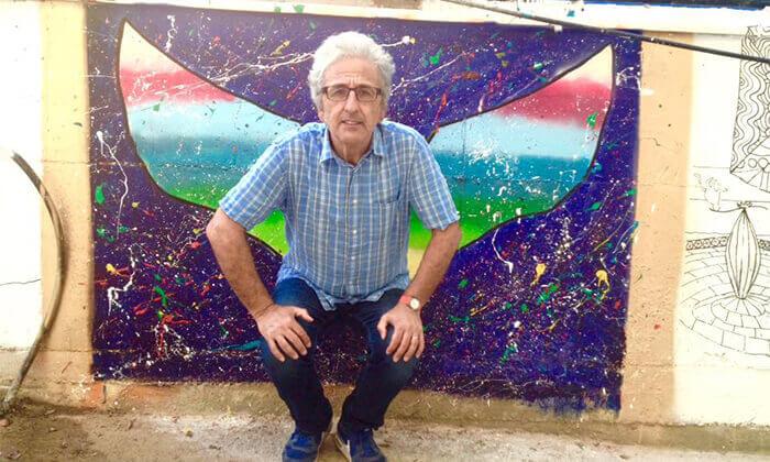 """7 סיור גרפיטי כולל סדנה לילדים בנווה צדק, ת""""א"""