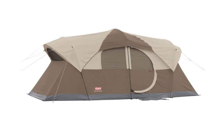 2 אוהל ל-10 אנשים Coleman דגם WeatherMaster | משלוח חינם