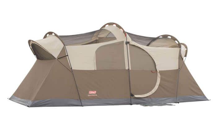 4 אוהל ל-10 אנשים Coleman דגם WeatherMaster | משלוח חינם
