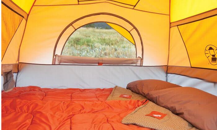 3 אוהל ל-7 אנשים Coleman דגם INSTANT DOME   משלוח חינם