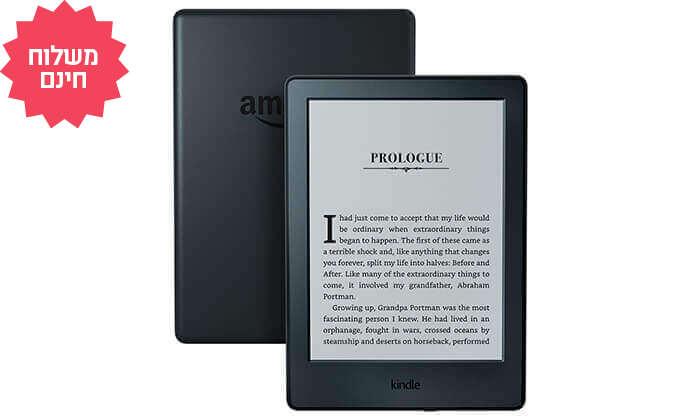 4 קורא ספרים אלקטרוני Amazon Kindle דגם 2019 | משלוח חינם