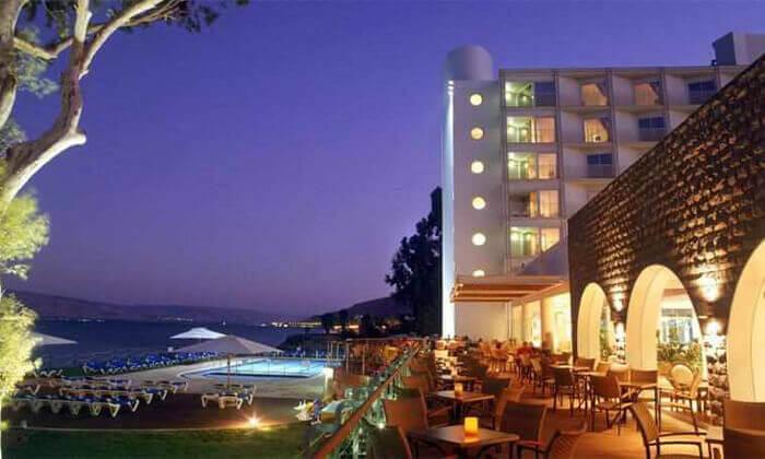 4 מלון רימונים גלי כנרת בטבריה - יום פינוק כולל עיסוי לזוג