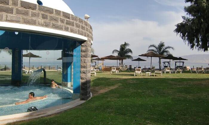 2 מלון רימונים גלי כנרת בטבריה - יום כיף