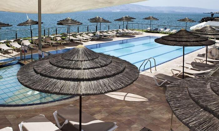 7 מלון רימונים גלי כנרת בטבריה - יום כיף