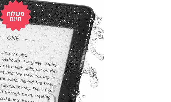 3 קורא ספרים אלקטרוני חסין במים Amazon Kindle Paperwhiteמדגם 2018 | משלוח חינם