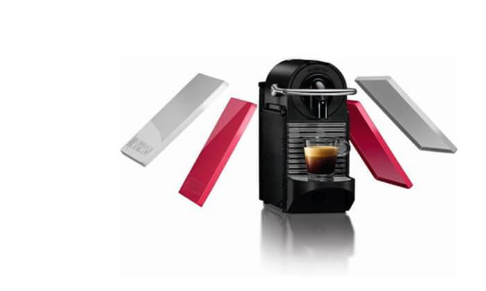 2 מכונת קפה נספרסו מדגם Essenza Pixie C60