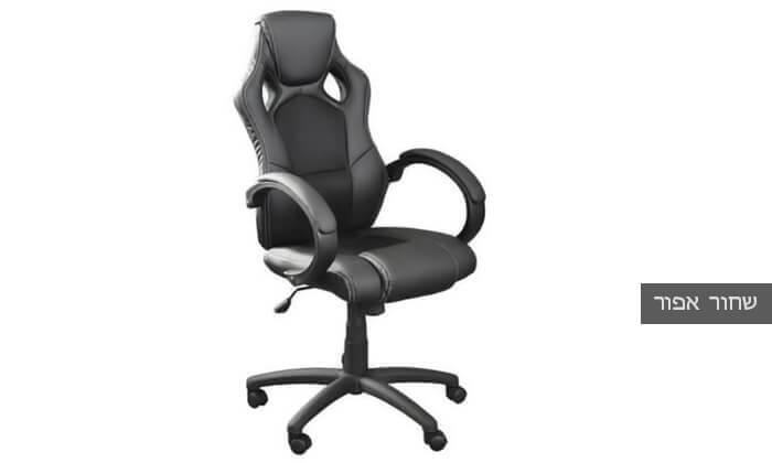 6 כסא גיימרים מרופד מדגם C588
