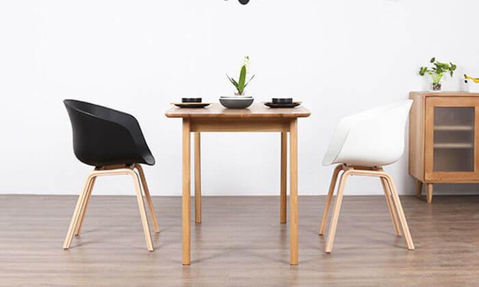 9 כסא בעיצוב מעוגל דגם C496