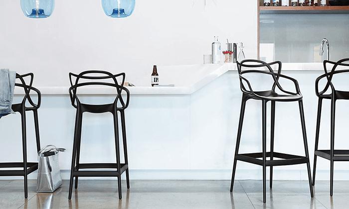 6 כיסא בר מעוצב מדגם 090
