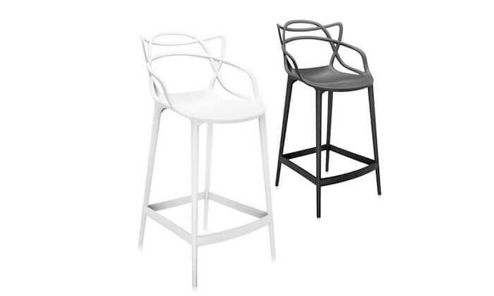 2 כיסא בר מעוצב מדגם 090