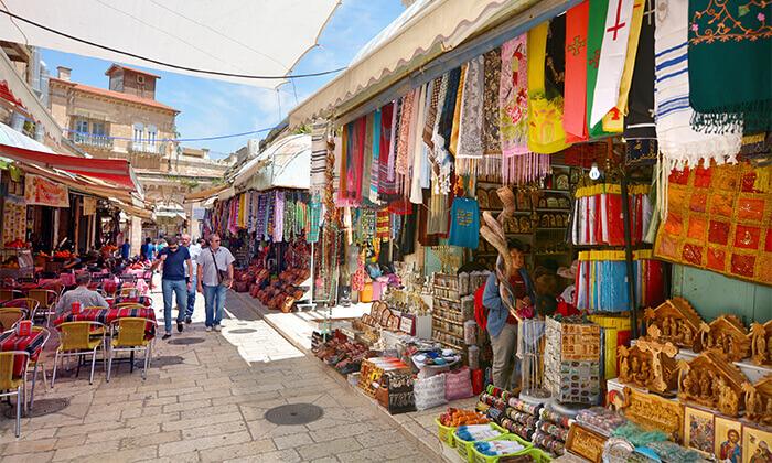 5 ג'רוזלם סיטי טור - סיור באוטובוס קומותיים פתוח בירושלים