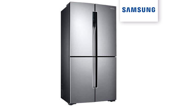2 מקרר 4 דלתות סמסונג 700 ל' מדגם Samsung RF60J9000SL