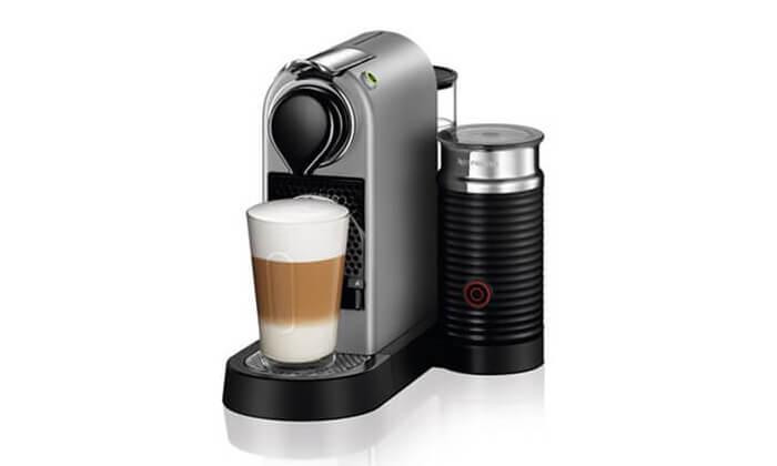 2 מכונת אספרסו Nespressoדגם Citiz&Milk C122|