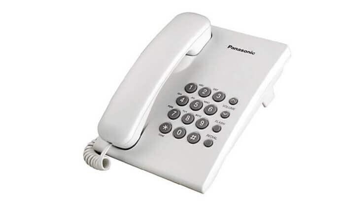2 טלפון שולחני Panasonic דגם KXTS500