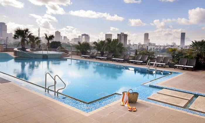 8 ספא סיטי טאוור במלון לאונרדו, רמת גן - יום פינוק ליחיד או לזוג