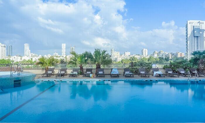 6 ספא סיטי טאוור במלון לאונרדו, רמת גן - יום פינוק ליחיד או לזוג