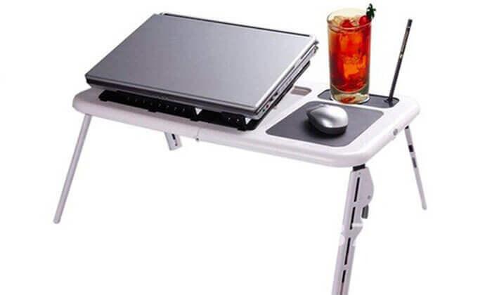 5 שולחן מתקפל למחשב נייד