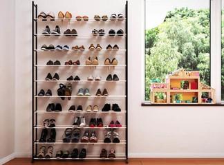 ארון אחסון ל-50 זוגות נעליים