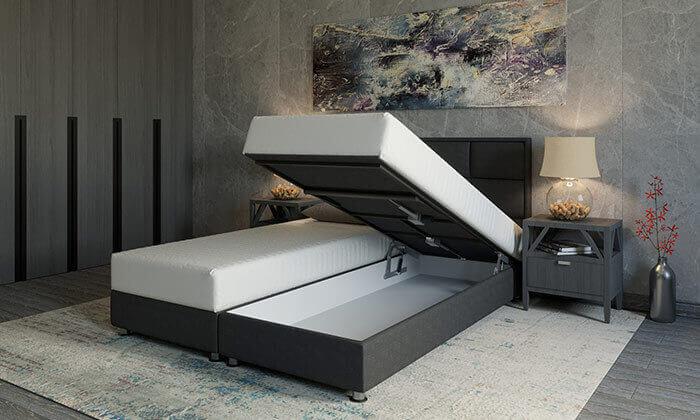 4 מיטה זוגית אורתופדית RAM DESIGN דגם לואיג'י